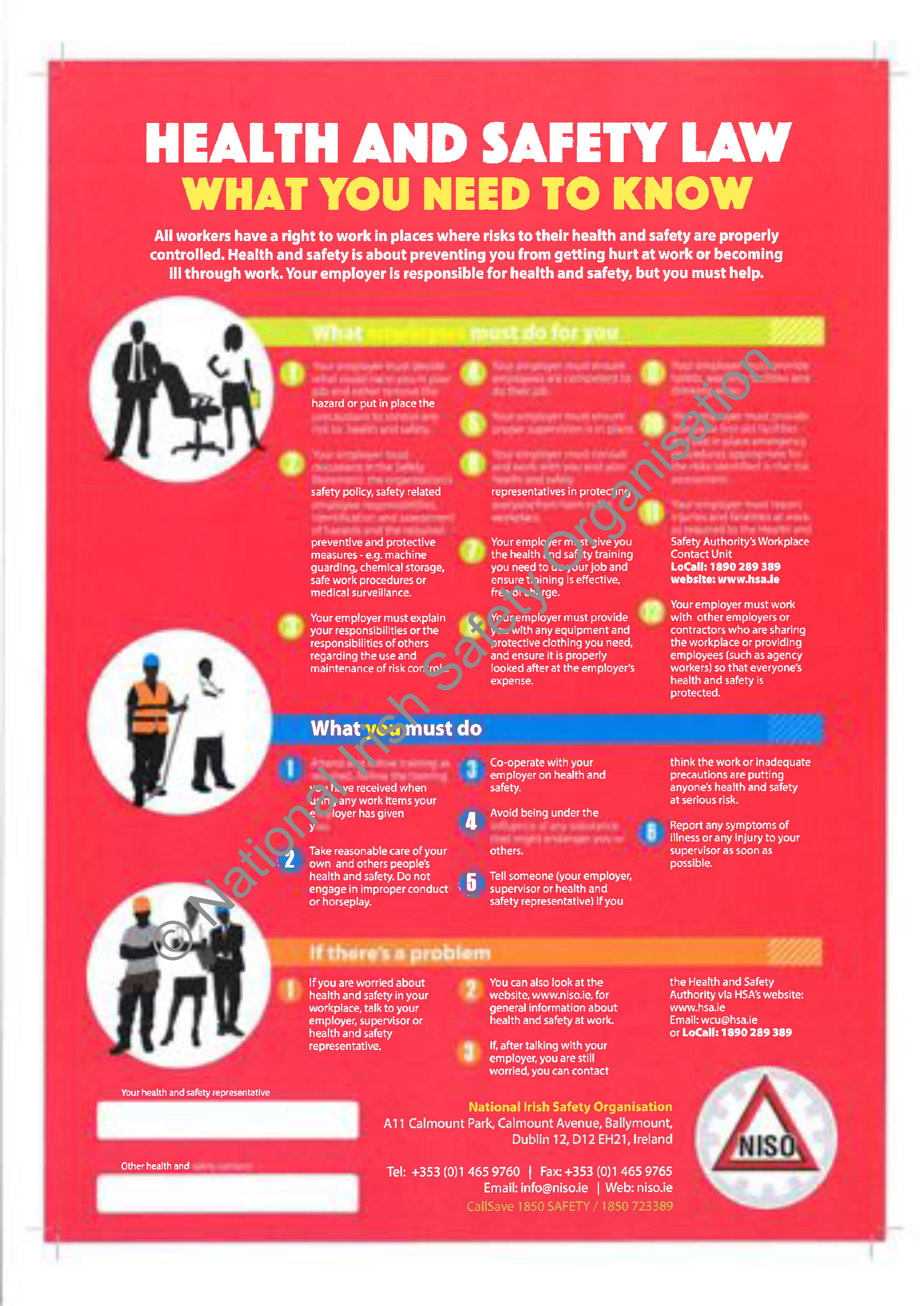 Niso safety posters for What is the best poster website